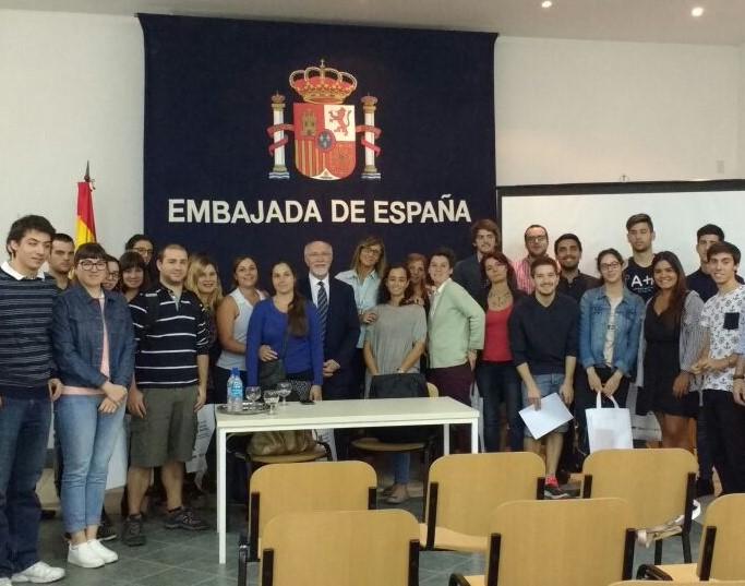 Foto de grupo de los participantes.