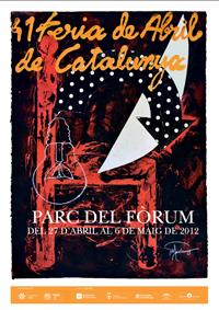 El cartel de la Feria de Abril.