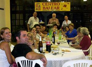 Reunión del Centro Balear Santa Fe.