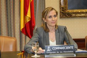 Comparecencia en el Congreso de la secretaria general de Inmigración y Emigración, Marina del Corral.
