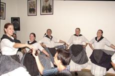 Actuación del grupo de baile 'El Micalet'.