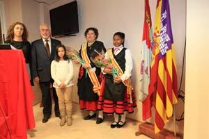 Las Reinas de la Fiesta de la Casa en Baleares.