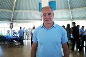 El secretario xeral da Emigración, Santiago Camba, en la romería del Centro Gallego de México.