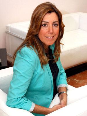 Susana Díaz Pacheco, consejera de Presidencia e Igualdad.