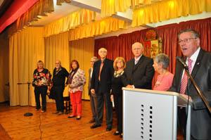 En el acto se fallaron los premios y se recitaron poemas.