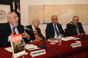 Guillermo Aveledo, José Manuel Romay Beccaría, Santiago Camba y José Ramón Ónega.