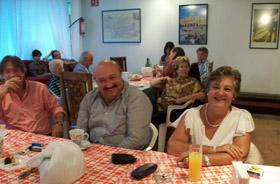 Celebrando el Día de la Comunidad en la Casa de Madrid en México.