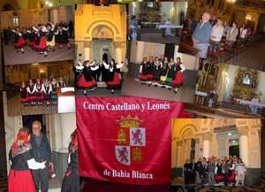 Collage con imágenes de la celebración.