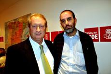 Gustavo Machordom, izquierda, y José Antonio Fernández.