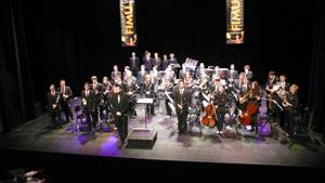 Actuación de la Banda el domingo día 27 en el Teatre Granit.