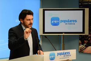 El portavoz del PP en el Parlamento gallego en materia de Emigración, Antonio Rodríguez Miranda.