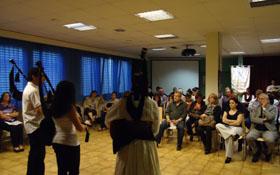 Una de las actividades organizadas por la colectividad gallega en Suiza.