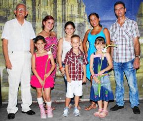 Los premiados en el certamen 'Conozca Galicia'.