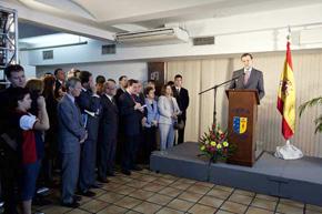 Intervención de Rajoy en la Casa de España de Río de Janeiro.