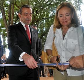 Durante su viaje a Uruguay el pasado mes de marzo Rivero inauguró el Museo de la Emigración Canaria en Canelones.