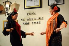 Una actuación en la Peña Al Andalus de Amberes.