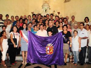 Misa de San Pedro en la Sociedad Benéfica Burgalesa.