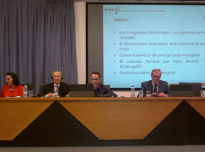 Un momento de la ponencia de Miguel Ángel Ramos.