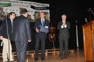 José Antonio Monago en la clausura de las jornadas culturales.