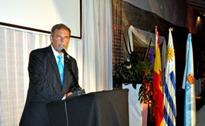 Jorge Torres Cantalapiedra, presidente de FIEU y del Centro Gallego de Montevideo.