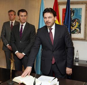 El nuevo secretario xeral da Emigración, Antonio Rodríguez Miranda, tomó posesión de su cargo el miércoles 26 de diciembre.