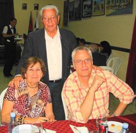 Carmelo González con Blanca María Fernández.
