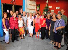 Miembros de las sociedades gallegas.