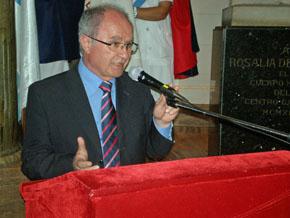 El interventor por el Inaes transmitió un mensaje de optimismo a los socios del Centro Gallego.