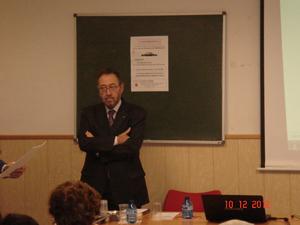 Carlos de la Casa y Javier Burrieza ofrecieron sendas conferencias.