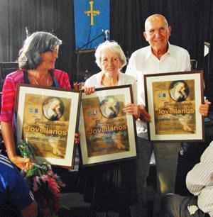 María Amelia González Braniella, Ángeles María Vega Fernández y Manuel Peláez López.