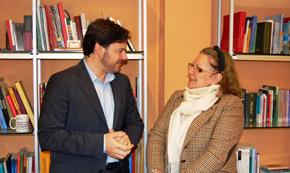 Antonio Rodríguez Miranda y Marta Echarte.