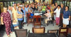 Reunión de los estradenses en La Habana.