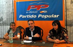 Alfredo Prada en Montevideo