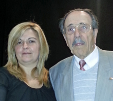 Rocío Abad y Manuel Ramírez.