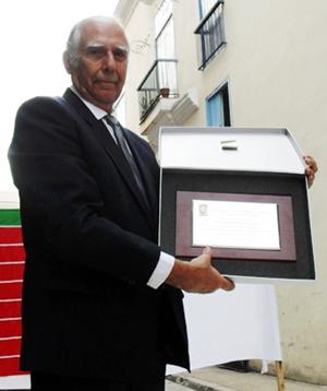 El homenajeado, Sergio Rabanillo.