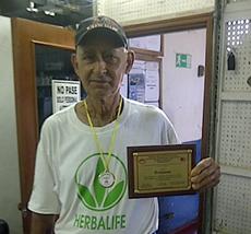 El emigrante canario Juan Troyano.