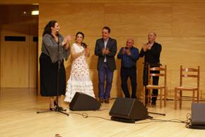 Actuación de Ana de los Reyes.