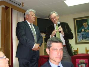 El alcalde de Barcelona, Xavier Trias, dirigió unas palabras a los asistentes.