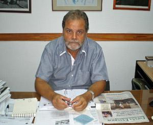 Semino recibió a España Exterior en su despacho de la Defensoría del Pueblo.