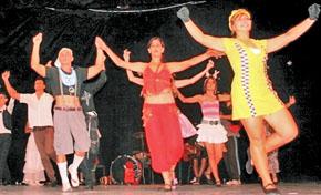 Los grupos 'Celta Habana' y 'Ritmos del alma'.