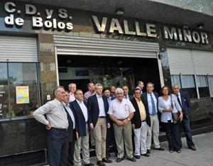 Visita al Valle Miñor de Montevideo.