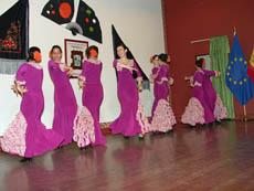Grupo 'Raices del Sur' del Centro Cultural Andaluz 'Séneca'.