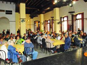 Vista de los asistentes a la celebración del 132 aniversario de 'Naturales de Andalucía'.
