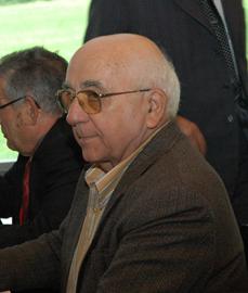 Antonio Fidalgo en el último pleno del CGCEE celebrado en Santiago de Compostela en octubre de 2012.