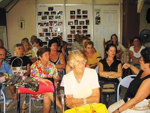 Las Comisiones de Mujeres de la Agrupación de Sociedades Castellanas y Leonesas.