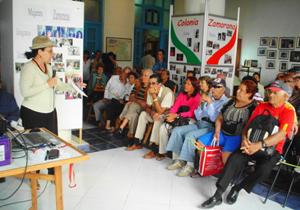 Imagen de la actividad organizada por la Colonia Zamorana de Cuba.