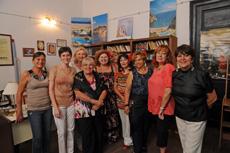 Miembros de la nueva comisión directiva presidida por Cecilia Antonia Pérez.