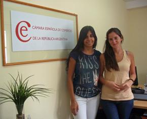 Mariana Periales y Fernanda Terrera.