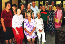Directivos y socios de 'Progreso de Coles' de La Habana.