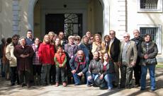 Los participantes en la visita.